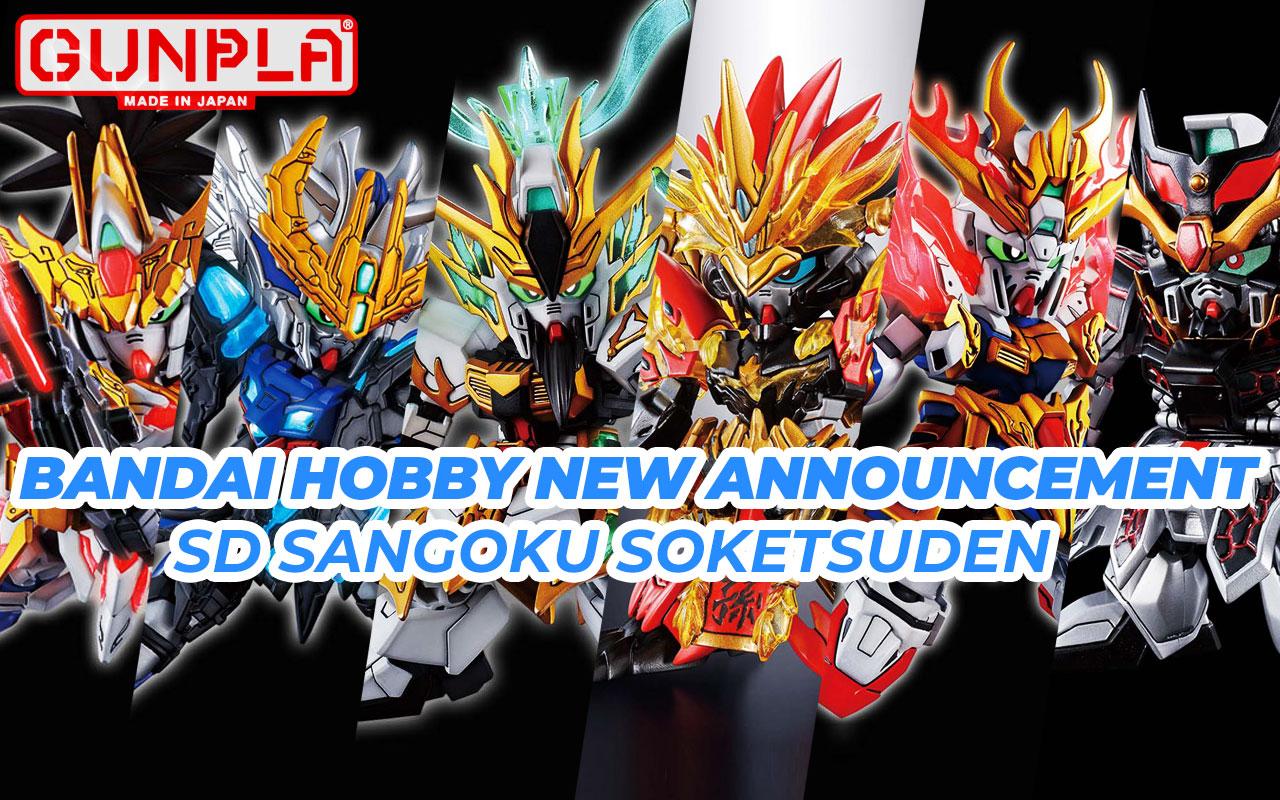 BANDAI Hobby New Announcement - SD Sangoku Soketsuden