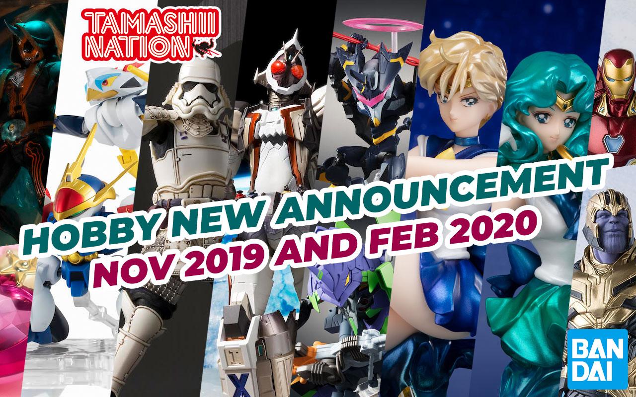 April 2019 New Bandai Tamashii Nations Announcement