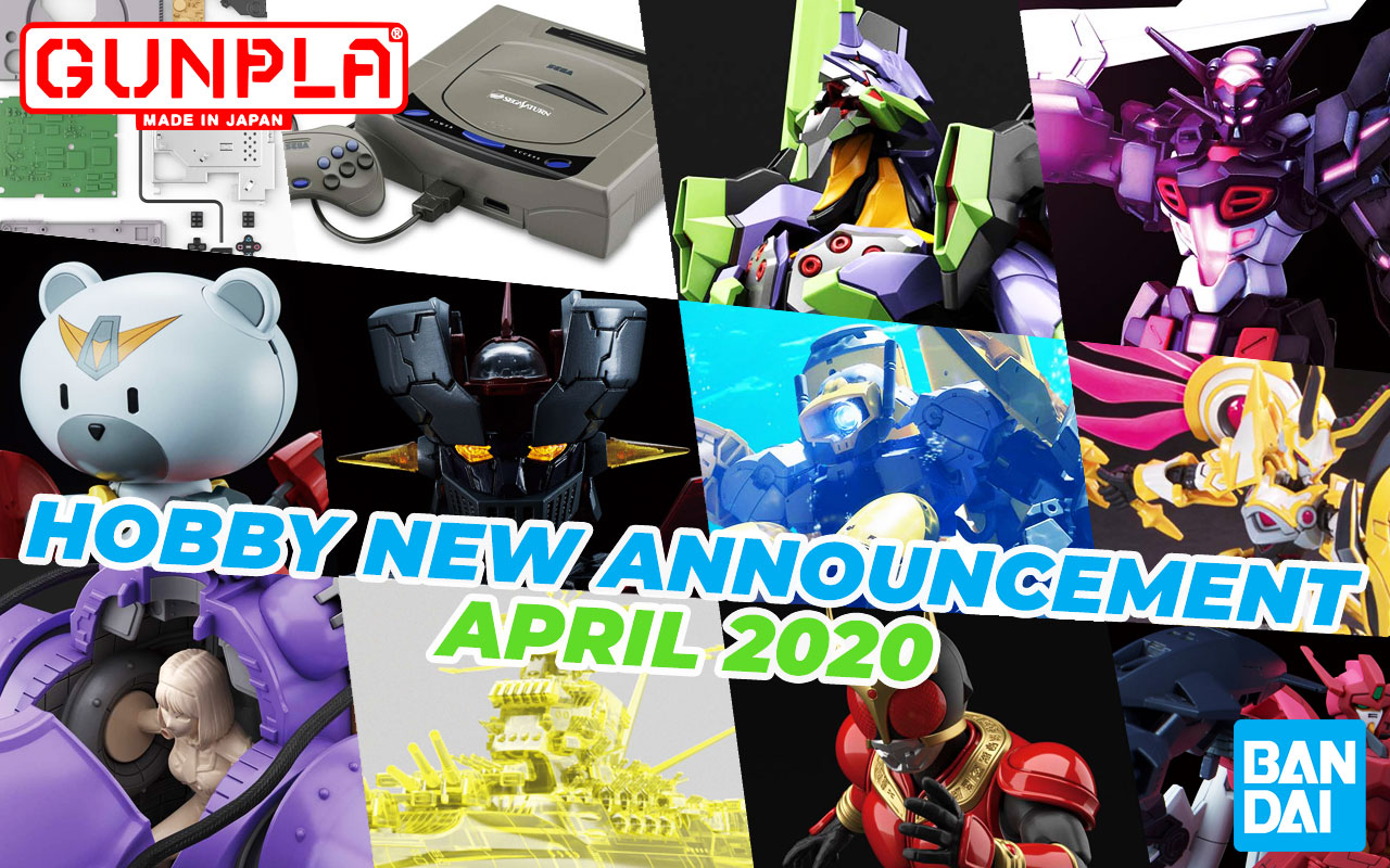 BANDAI Hobby November 2019 Announcement: April 2020 Arrivals