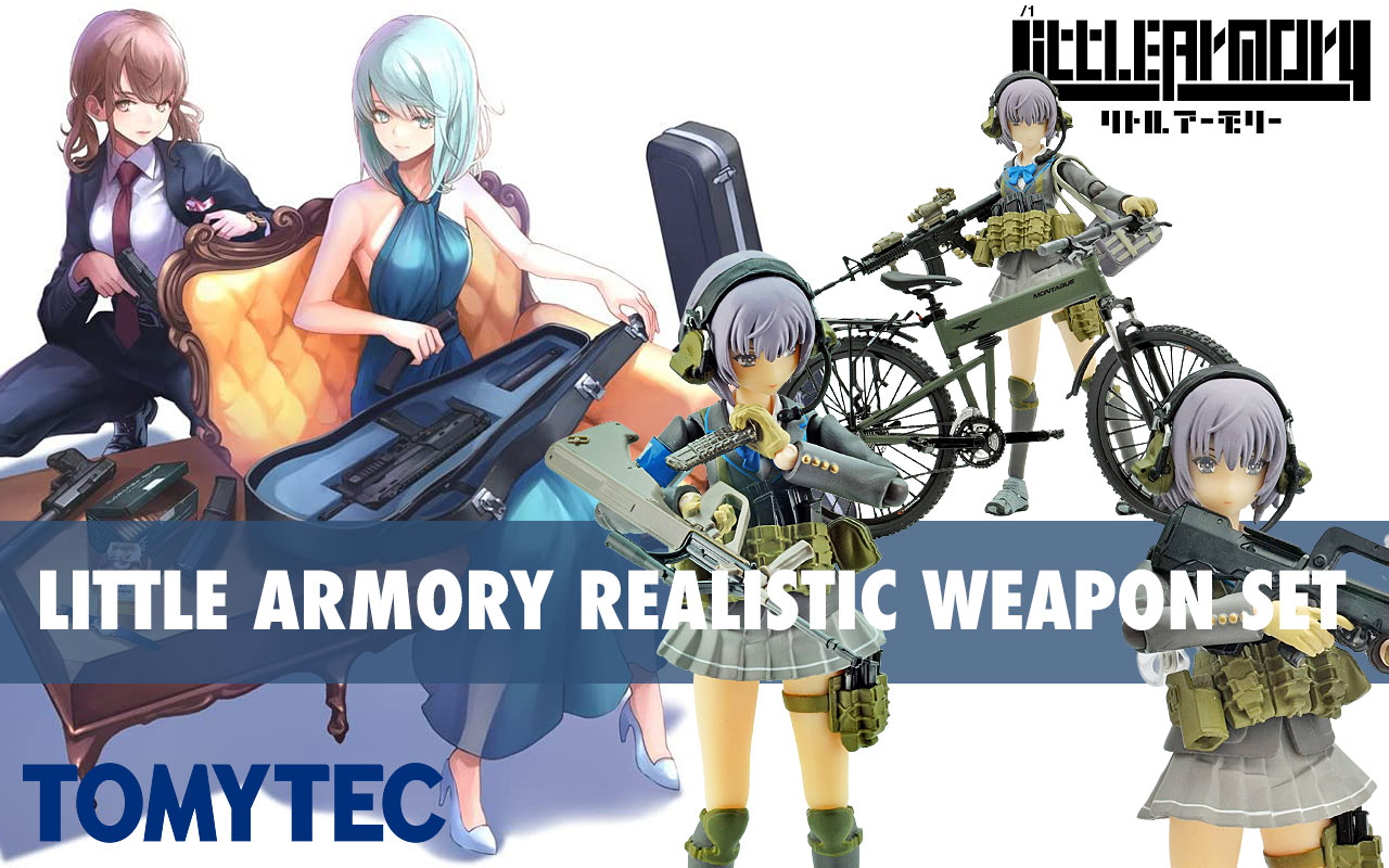 Little Armory now available at Gundam Planet!