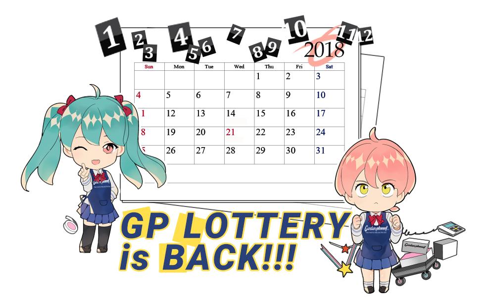 2019 GP Lottery WINNERS (January-March)