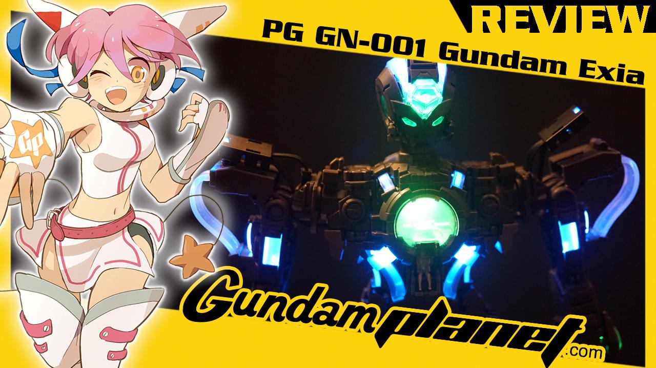 PG GN-001 Gundam Exia Review