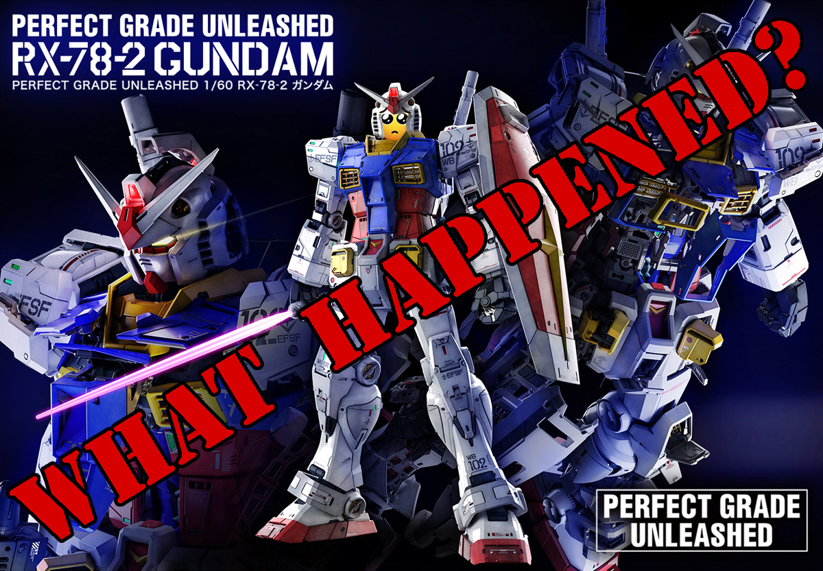What's the deal with PG Unleashed RX-78-2 Preorders?