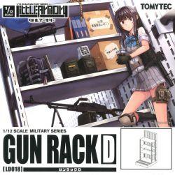 1/12 Little Armory (LD018) Gun Rack D