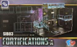 1/24 Diorama Building Set SIB03 Fortifications-A