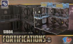 1/24 Diorama Building Set SIB04 Fortifications-B