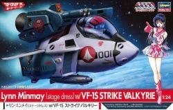 1/24 Lynn Minmay (Stage Dress) with Egg Plane VF-1S Strike Valkyrie