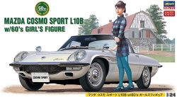 1/24 Mazda Cosmo Sports L10B with Girl