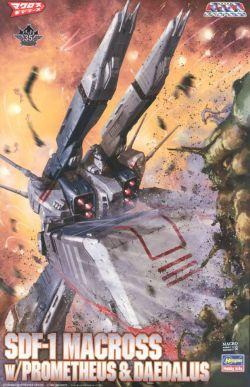 1/4000 SDF-1 Macross Force Attack Mode w/ Promethueus & Daedalus