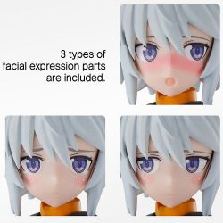 30MS Option Face Parts Vol.1 Facial Expression Set 4 [Color A]