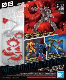 Customize Effect Action Image Ver. (Red)