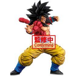 Dragon Ball Super BANPRESTO WORLD FIGURE COLOSSEUM 3 Super Master Stars Piece: Super Saiyan 4 Son Goku (Two Dimensions)