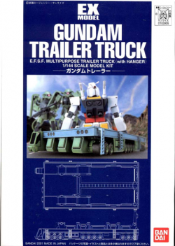 EX Model 1/144 Gundam Trailer Truck