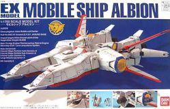 EX Model 1/1700 Mobile Ship Albion