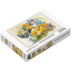 Final Fantasy CHOCOBO PARTY UP! 1,000 Piece Jigsaw Puzzle