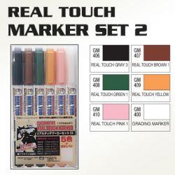 GMS113 Real Touch Gundam Marker Set 2 (set of 6)