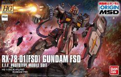 HG RX-78-01(FSD) Gundam Full Scale Development (Gundam The Origin Ver.)