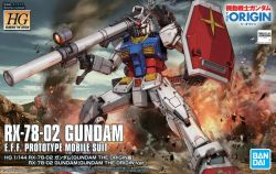 HG RX-78-02 Gundam (Gundam The Origin Ver.)