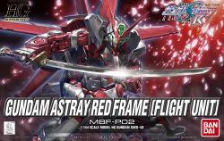 HG MBF-P02 Gundam Astray Red Frame Flight Unit