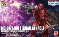 HG MS-05 Zaku I Char Custom (Gundam The Origin Ver.)