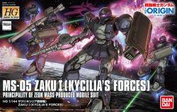 HG MS-05 Zaku I Kycilia Forces Custom (Gundam The Origin Ver.)