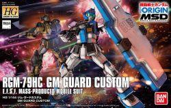 HG RGM-79HC GM Guard Custom (Gundam The Origin Ver.)