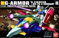 HGUC G-Armor: RX-78-2 Gundam + G-Fighter