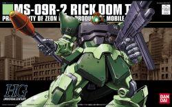 HGUC MS-09R-2 Rick Dom II Colony Color