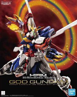 High-Resolution Model God Gundam