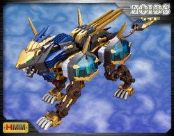 HMM Zoids EZ-054 Liger Zero X