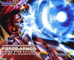 Mega Man X Force Armor (Rising Fire Ver.) Model Kit