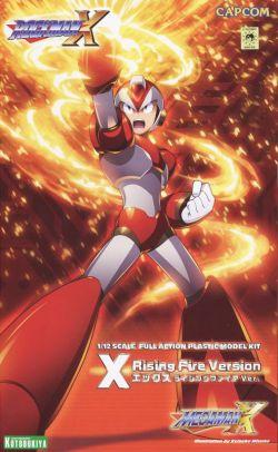 Mega Man X (Rising Fire Ver.) Model Kit