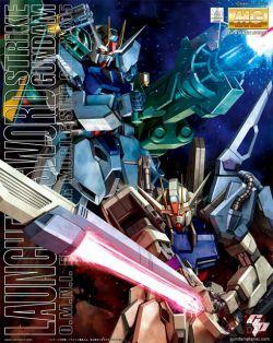 MG GAT-X105 Launcher/Sword Strike Gundam