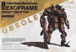 MODEROID 1/35 USMC EXOFRAME