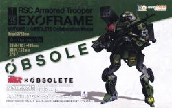 MODEROID [VOTOMS x OBSOLETE Collaboration Model] 1/35 RSC Armored Trooper EXOFRAME