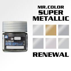 Mr. Color Super Metallic Series Renewal (Gloss)