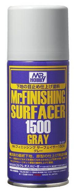 Mr. Finishing Surfacer 1500 Gray Spray 170ml