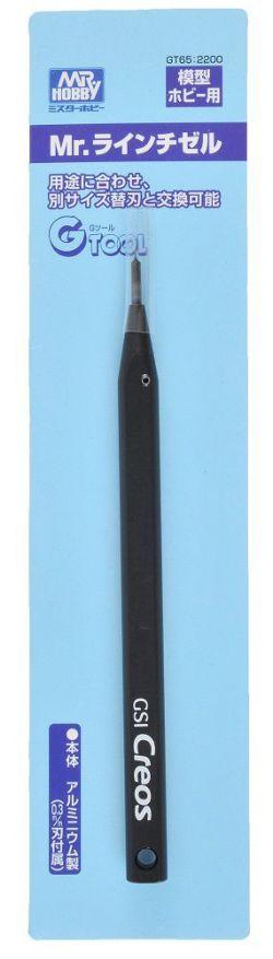 Mr. Line Chisel / Panel Line Scriber (0.3mm Blade Included)