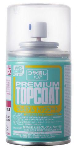 Mr. Premium Top Coat Spray 88ml (Flat)