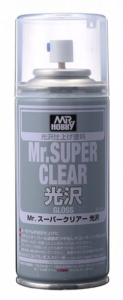 Mr. Super Clear Spray 170ml (Gloss)