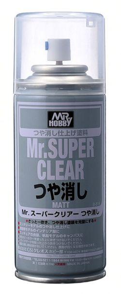 Mr. Super Clear Spray 170ml (Matt)