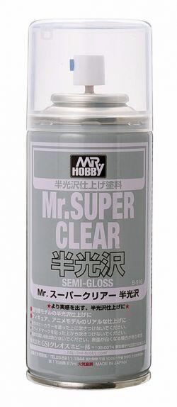 Mr. Super Clear Spray 170ml (Semi-Gloss)