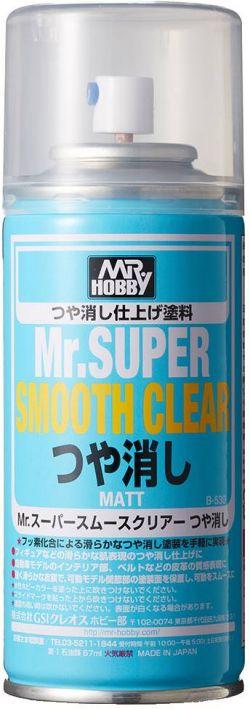 Mr. Super Smooth Clear Spray 170ml (Matt)