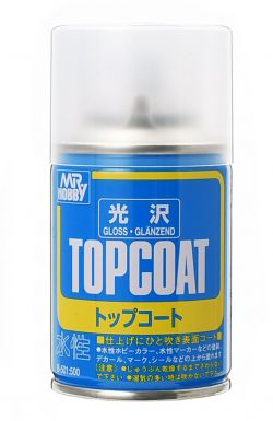 Mr. Top Coat Spray 88ml (Gloss)