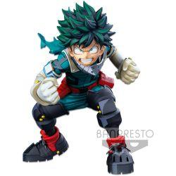 My Hero Academia BANPRESTO WORLD FIGURE COLOSSEUM Modeling Academy Super Master Stars Piece: The Izuku Midoriya (Two Dimensions)