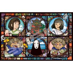 News from a Mysterious Town - Spirited Away Artcrystal Puzzle