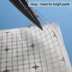 Panel Line Custom Guide Transparent Gray