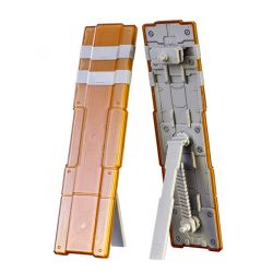 Pla-Act Option Series 10: Twin Shield Clear Orange