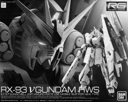 RG FA-93HWS Nu Gundam Heavy Weapon System