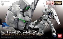 RG RX-0 Unicorn Gundam Premium Unicorn Mode Box